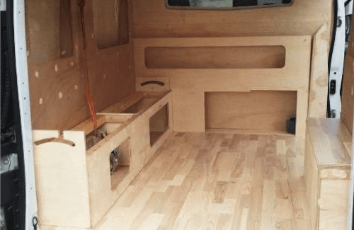 You Won't Believe What He Did To Transform His Camper Floor – Part 2