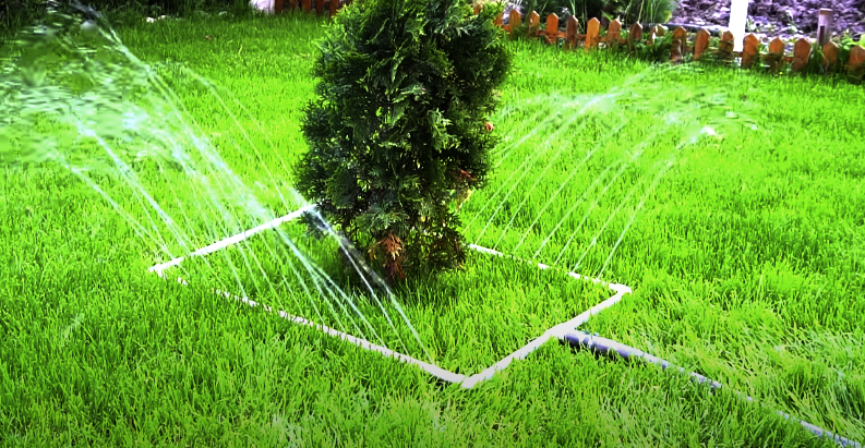 How To Make A Garden Sprinkler From PVC pipes