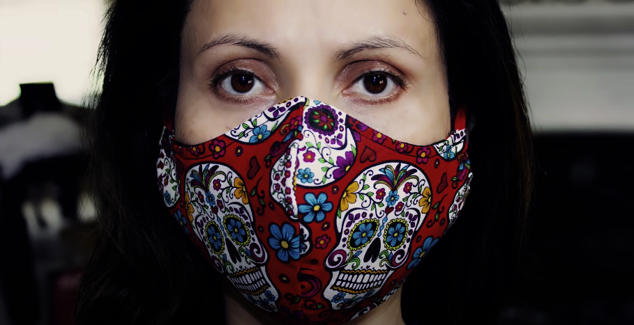 How to Sew the VERY BEST Fitted Fabric Face Mask with Filter Pocket and Nose Support (Part 1)
