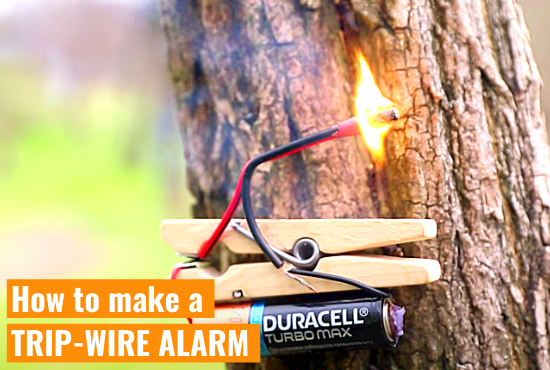 How to make a TRIP-WIRE ALARM (Part 2)