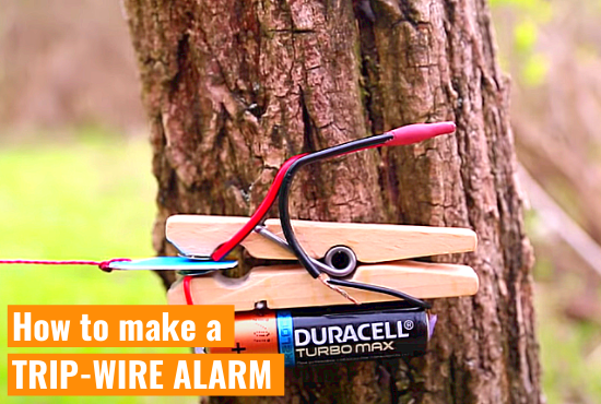 How to make a TRIP-WIRE ALARM (Part 1)