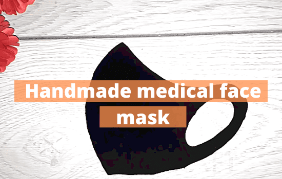 How To Make a Handmade medical face mask (P1)