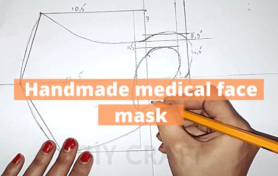 How To Make a Handmade medical face mask (P2)